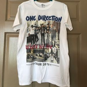 Tops - One Direction 2014 Tour T-Shirt (never worn)