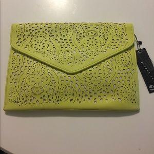 Handbags - Yellow clutch.  Never used.