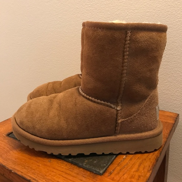 9aba75987a7 Short chestnut ugg boots size 12