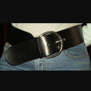 Accessories - Black Waist Belt [small]