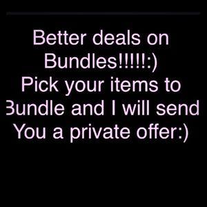 Accessories - Bundle deals