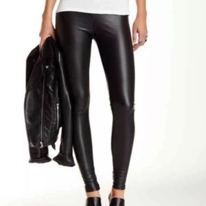 Free Press Liquid Faux Leather Legging, NWT, Med