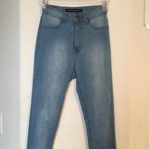 Lightwash Fashion Nova Jeans