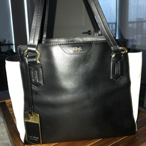 Lauren Ralph Lauren satchel purse