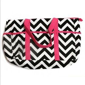 Handbags - Vibrant Chevron Diaper Large Tote Bag!