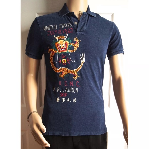 3930901c1 Polo by Ralph Lauren Shirts | Polo Ralph Lauren Dragon Embroidered ...