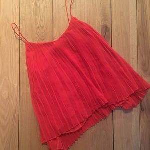 Abercrombie & Fitch Pleated Tank *NWOT*