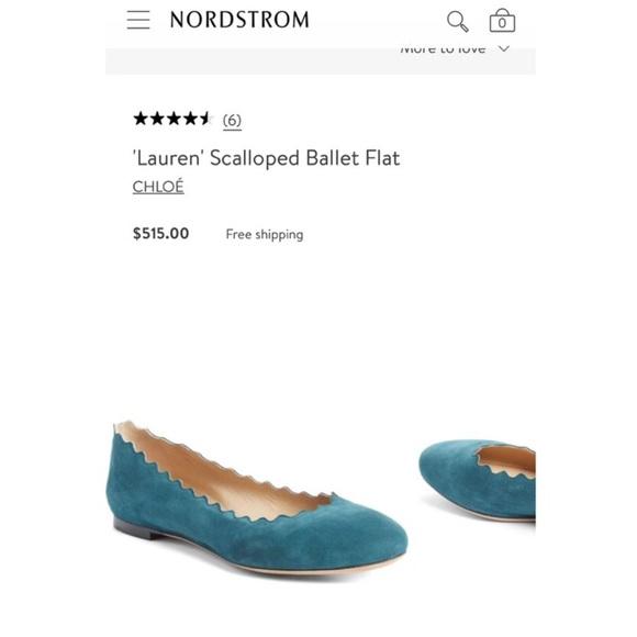 07839701f Chloe Shoes | Flash Sale Chlo Lauren Scalloped Ballet Flats | Poshmark
