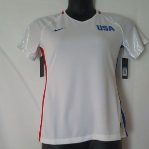 Nike Womens USA Olympic Jersey ‑ Size M
