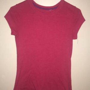 Other - Plain red kids t-shirt