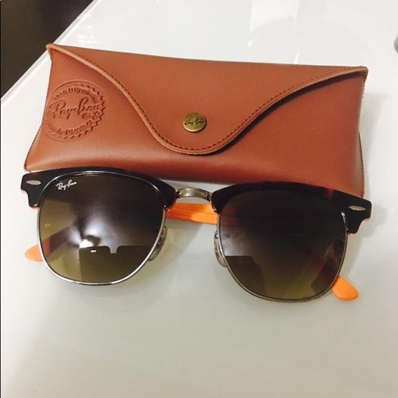ray ban clubmaster 3016 orange