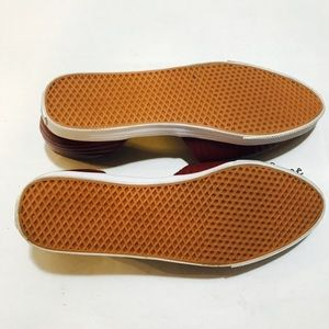 3f0ef82332774d Vans Shoes - VANS MAROON D ORSAY LEATHER FLATS ULTRACUSH 7.5