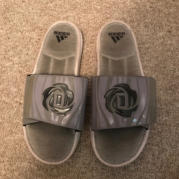f832afdf9d1 adidas Other - Adidas Derrick Rose Slides