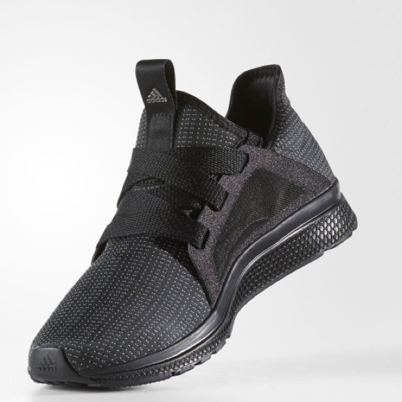 on sale 7f721 90b13 adidas Shoes - ADIDAS EDGE LUX BLACK BOUNCE STRETCH SNEAKERS 7