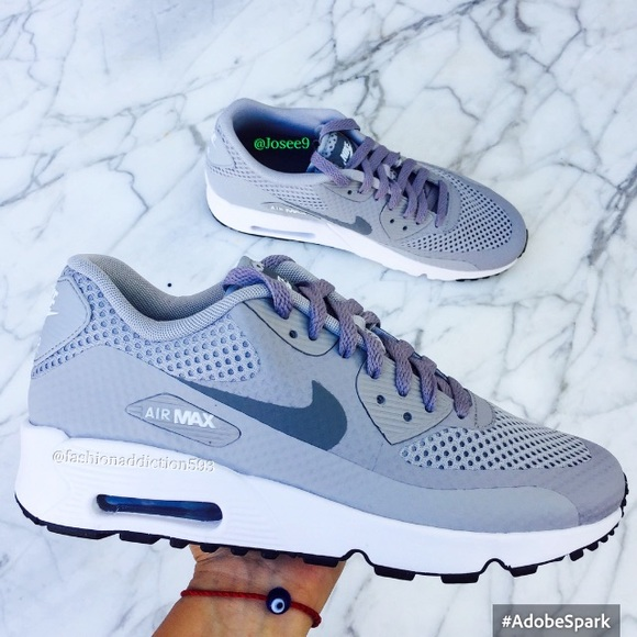save off b3f1b 20169 Nike air max 90 women s white gray sneakers