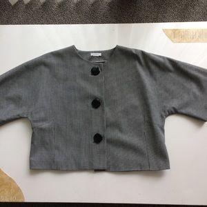Worthington Petite Stretch Dolman Sleeve Jacket
