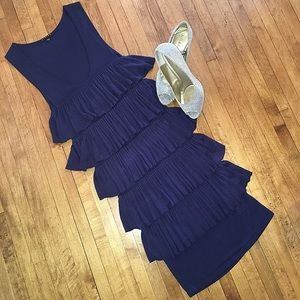 Sisley Tiered Knit Dress