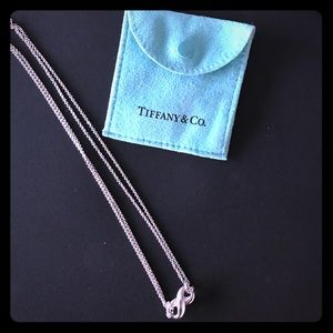 Tiffany Infinity Necklace Silver