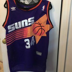 genuine sewn phoenix suns basketball jersey!
