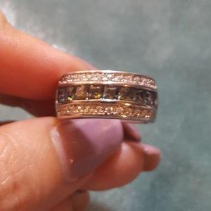 Jewelry - NWOT - Mystic Topaz ring sz 7