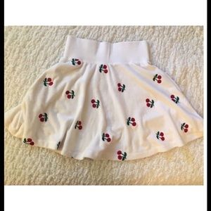 Betsey Johnson- Terry skirt- Embroidery - SALE
