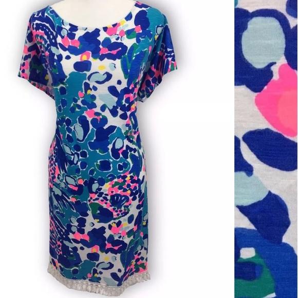 3a8cf240a26 Lilly Pulitzer Dresses | Tilla Tunic Dress Hit The Spot | Poshmark