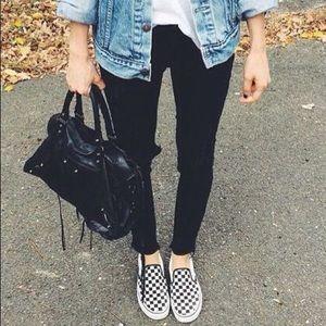 Vans Checkered Slip On Sneakers