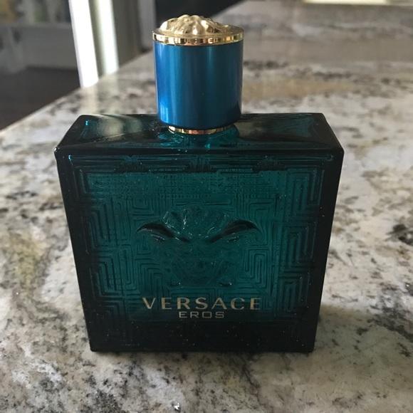 57b7f0441c9 Versace Other - Versace Men s Eros EDT 95% full