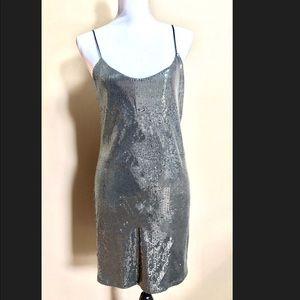 Zara sequin cocktail dress