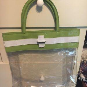 Handbags - Cute clear purse/tote