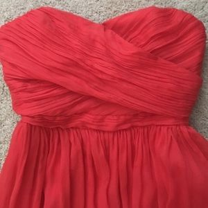 NWOT JCrew Poppy Bridesmaid Dress