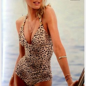 Victoria's Secret Swim - Victoria's Secret animal print suit