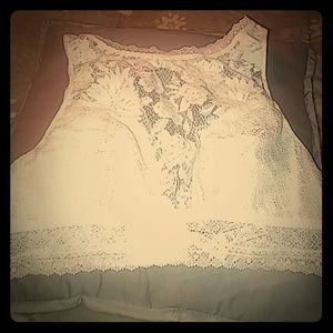 Victoria's Secret bralette large ivory lace NWOT