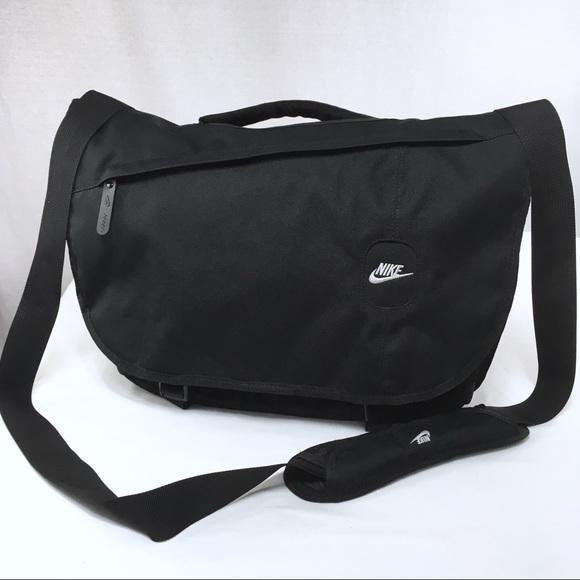 NIKE Metropolis Black Laptop Sling Messenger. M 598349e12ba50a1061008588.  Other Bags ... 7d351daed278e
