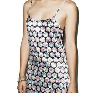 Dresses & Skirts - Anti Valentine's F*ck You Candy Heart Dress
