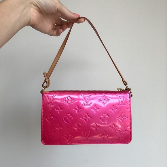 3ed9ea29e82b Louis Vuitton Handbags - Louis Vuitton Vernis Lexington Pochette Pink