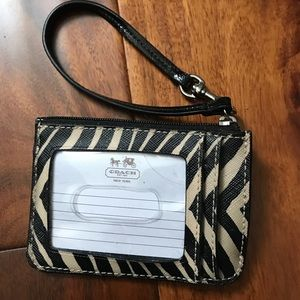 Accessories - Coach card holder