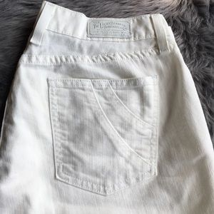 Lucky Brand White Capris size 32/14