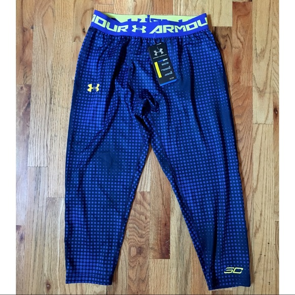 best service cdcd4 5ca18 UPDATED: Stephen Curry Cold Gear 3/4 Leggings NWT NWT