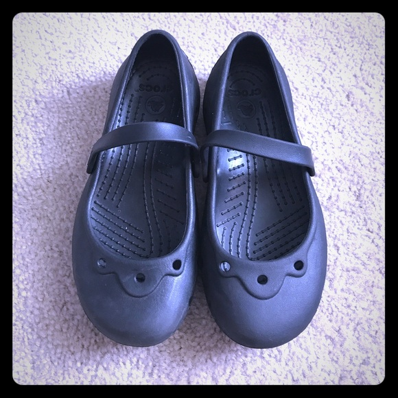 1d965bc6d CROCS Other - ❤ Girls Crocs Mary Janes Size 3