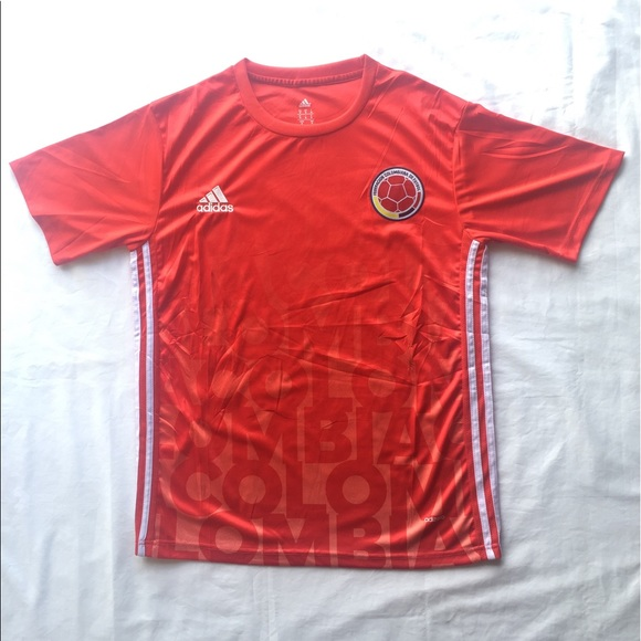 30db63044 red colombian soccer jersey