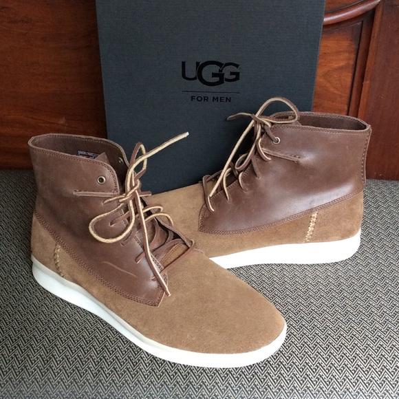 36a00590a2b Men's Lamont High top Leather Sneaker