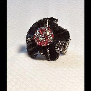 Jewelry - 🌹🌹Statement black colorful rhinestone ring🌹🌹