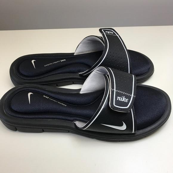 Nike Womens Comfort Footbed Slides Size