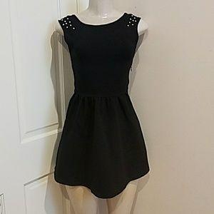 Zara women mini Black dress size xs.