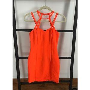 Dresses & Skirts - Neon geometric dress