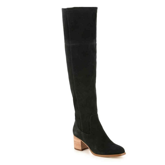 4353d29d1ee3 Black Marc Fisher Epic Wide Calf Boot