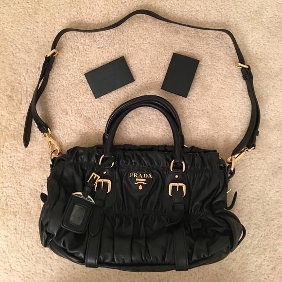 b5fc5bfd4772 Prada Bags | Nappa Gaufre New Condition | Poshmark