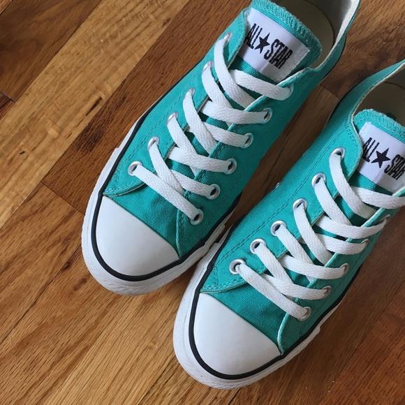 87af1d75ca06a1 Converse Shoes - Mediterranean Blue Low Top Converse