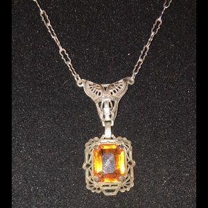 Jewelry - VINTAGE ART DECO NECKLACE